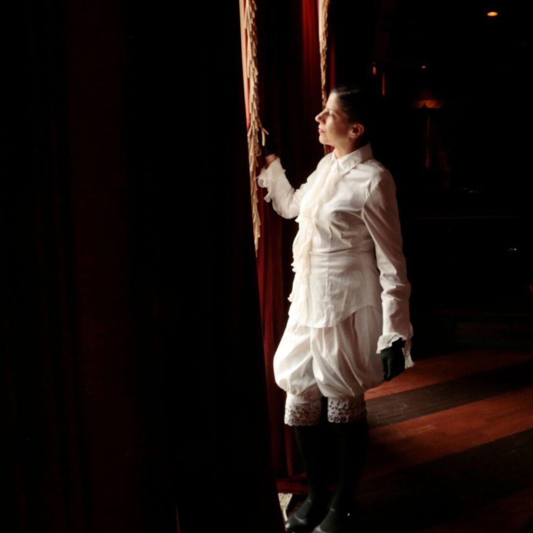 Actress Raphaelle O'Neill, Tenderloin Trilogy Those Who Posed