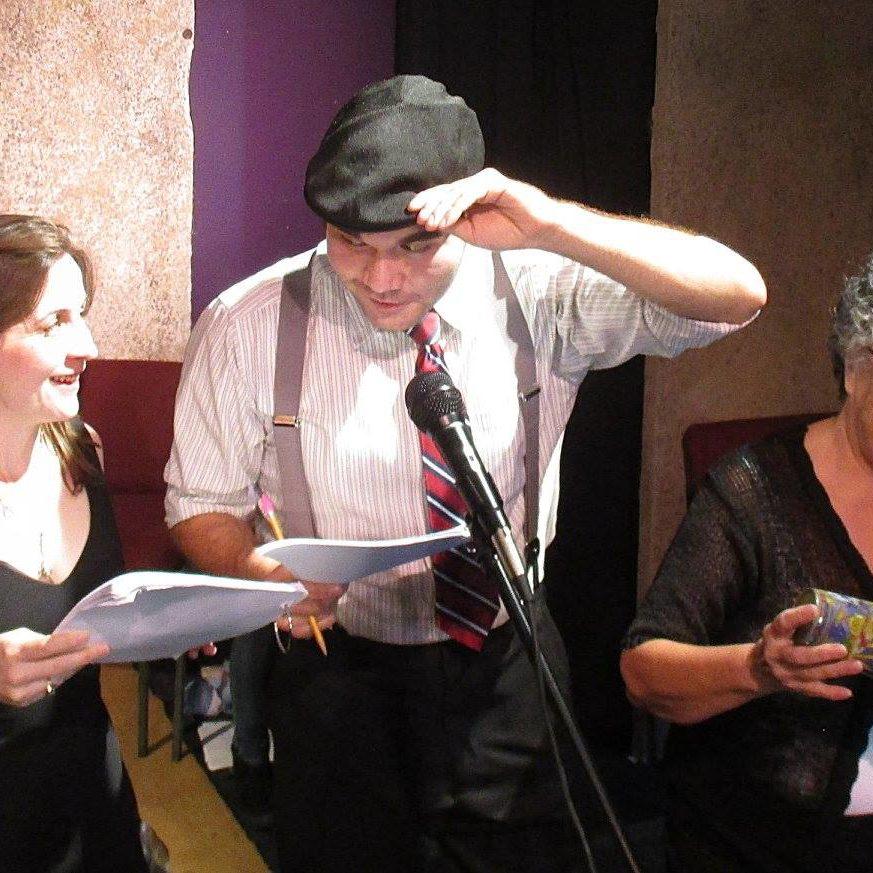 Shop Around the Corner, NOLA Voice, Soline McLain (AEA), Stephen Denning, Darcy Preston