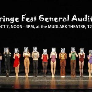 InFringe Fest General Auditions October 7th